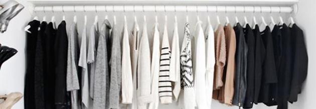 你的奢侈衣物要爱护 换季衣橱收纳整理术